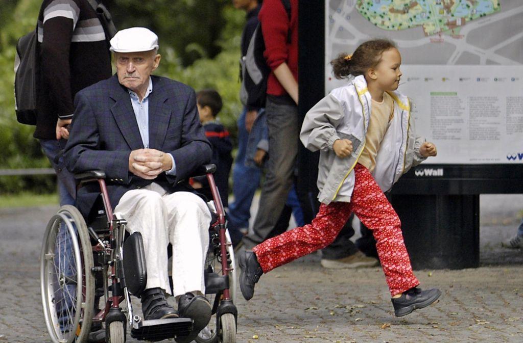 In der Pliensauvorstadt baut die Lebenshilfe eine Wohnanlage für Menschen mit und ohne Handicap. Foto: dpa