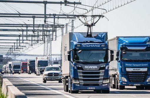Oberleitungs-Lastwagen fahren ab Frühjahr 2021 im Südwesten
