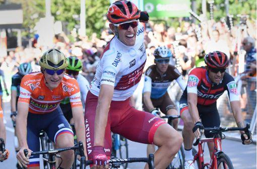 Nils Politt gewinnt Etappe in Stuttgart