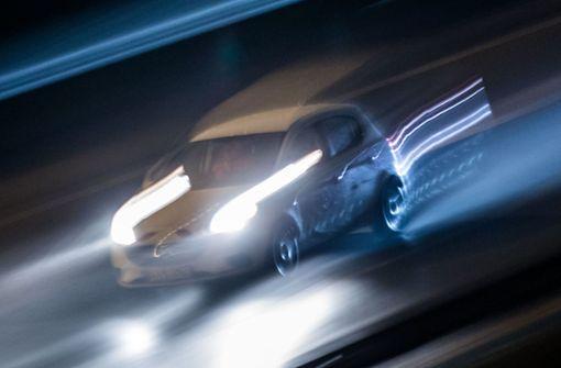 Lieferten sich Audi-Fahrer ein Rennen bei Echterdingen?