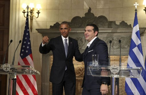 Obama verspricht in Griechenland Kontinuität