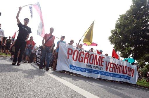 Marsch durch Dresden gegen Rechts