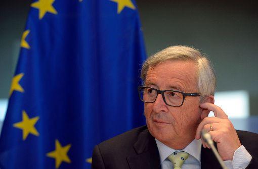 EU-Kommissionschef Juncker vor Panama-Untersuchungsausschuss