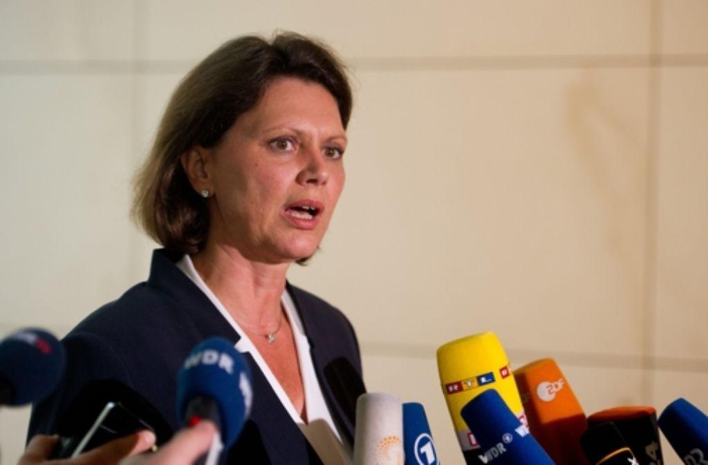 Ilse Aigner ist Seehofers Trumpf. Foto: dpa