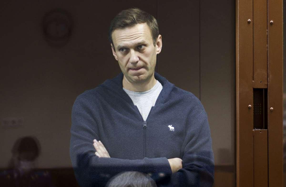 Alexej Nawalny hat vor Gericht erneut eine Niederlage einstecken müssen. Foto: dpa/Uncredited