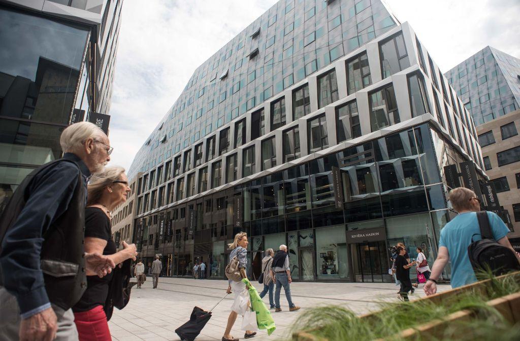 Das Dorotheen-Quartier in Stuttgart hat neu eröffnet. Foto: Lichtgut/Max Kovalenko