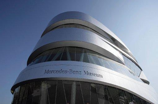 Die Social Media Night findet traditionellerweise im Mercedes Benz Museum statt. Foto: Daimler