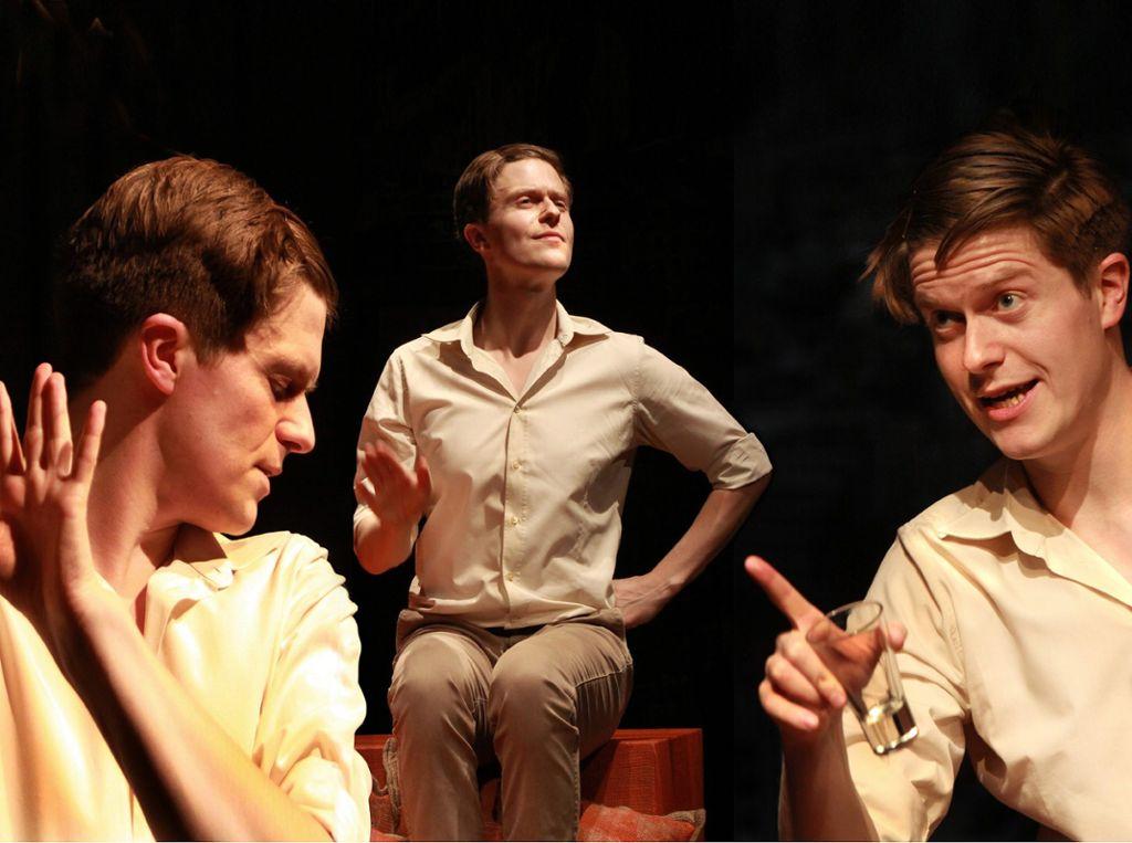 Michael Ransburg schlüpft in viele verschiedene Rollen. Foto: Sabine Haymann