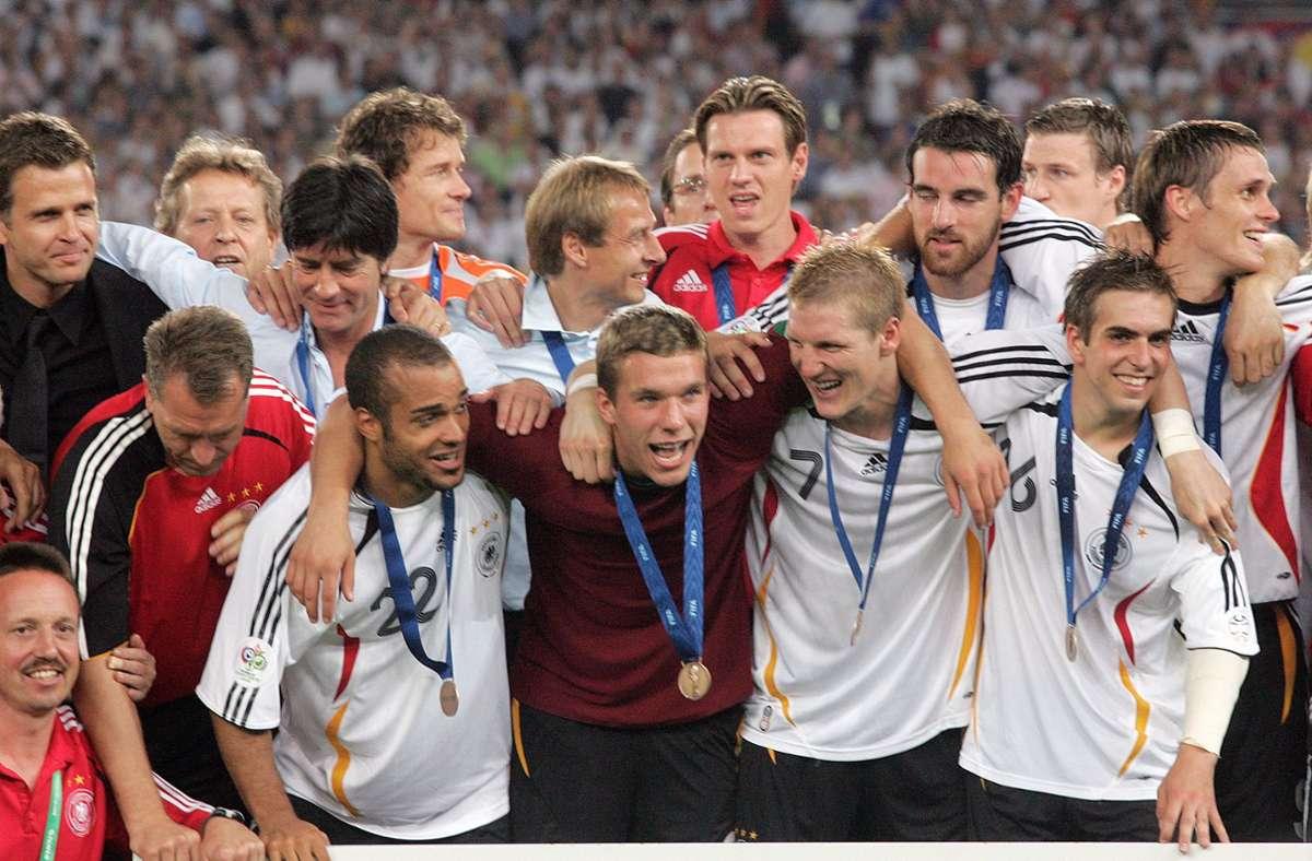 Wo endete das Sommermärchen 2006 für die  deutsche Mannschaft? Unvergessen: in Stuttgart. Foto: Baumann