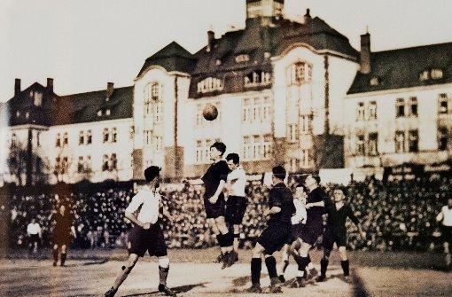 Das Telegrafenstadion, das mehr als 30000 Zuschauer fasste, war einst die Heimspielstätte des Karlsruher FV. Foto: Benny Ulmer
