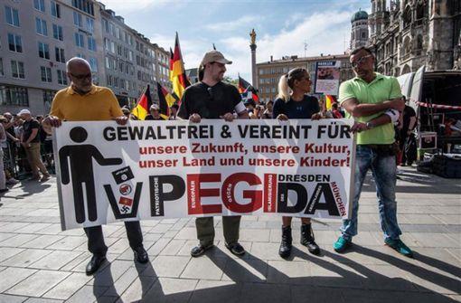 Pegida wird als extremistisch eingestuft