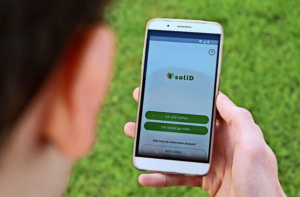 Idee made in Hohenheim: Eine App soll den aktuellen Engpass abmildern. Foto: Fritsch