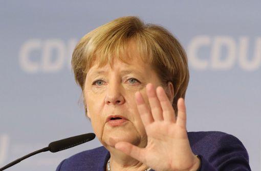 Merkel lehnt Neuverhandlung des Koalitionsvertrags ab