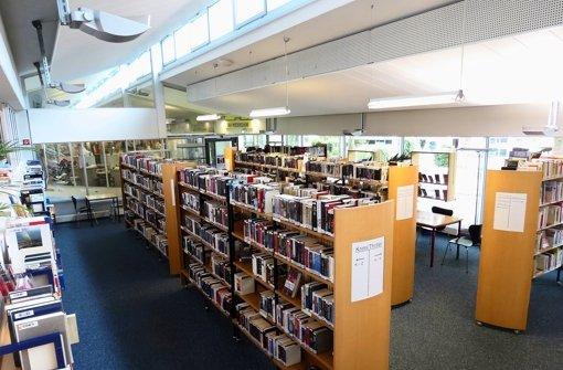 An heißen Tagen ist nicht nur die Bücherei in Freiberg wie ausgestorben. Foto: Thomas Siurkus