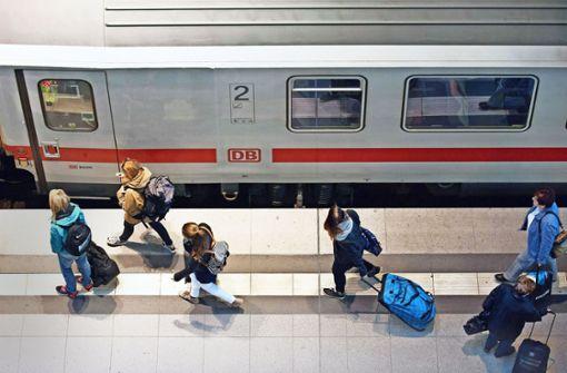 Frustriert im Zug?