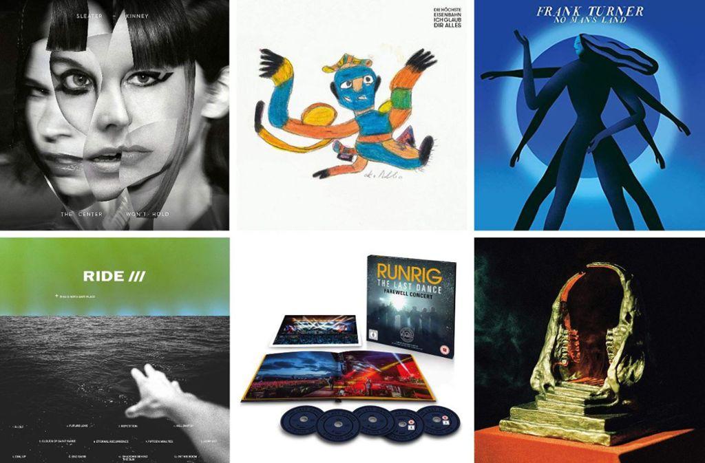 Einige der neuen Alben in dieser Woche Foto: Labels