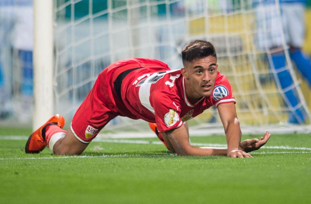 Ob Nicolas Gonzales rechtzeitig fit wird, steht noch in den Sternen. Foto: Pressefoto Baumann