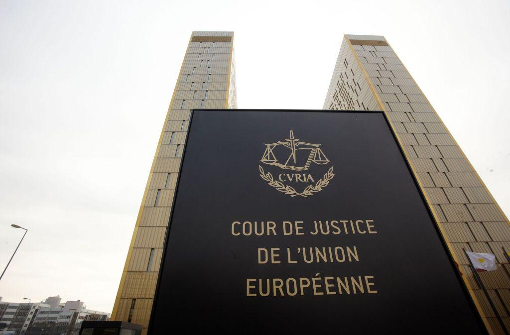 Der Europäische Gerichtshof. Foto: dpa