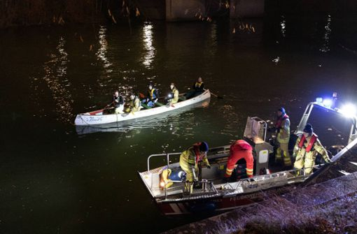 Polizei findet Toten im Neckar