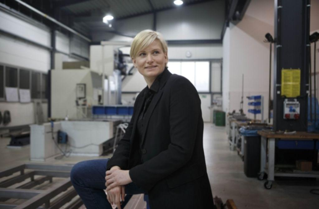 Die neue Obermeisterin Sandra Wolf führt eine Maschinenbaufirma. Foto: Gottfried Stoppel