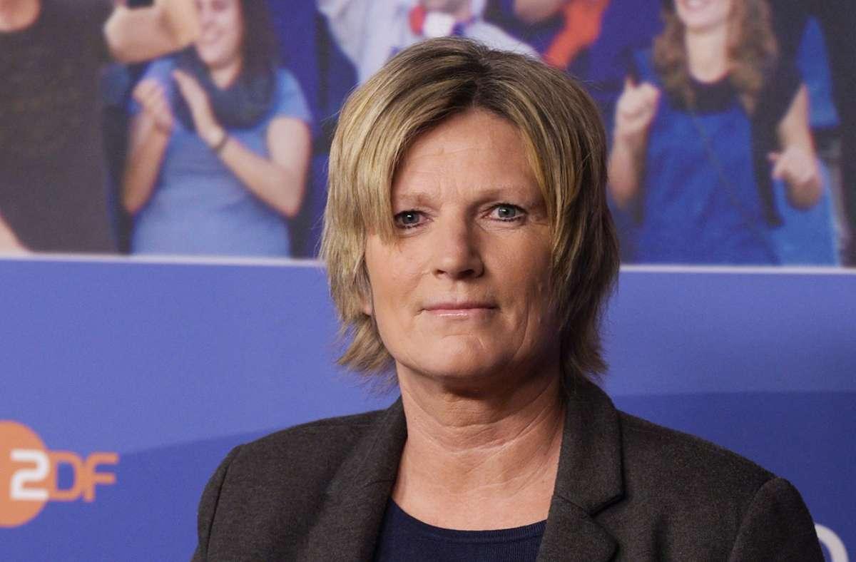 ZDF-Reporterin Claudia Neumann wird immer wieder heftig kritisiert. Foto: dpa/Rainer Jensen