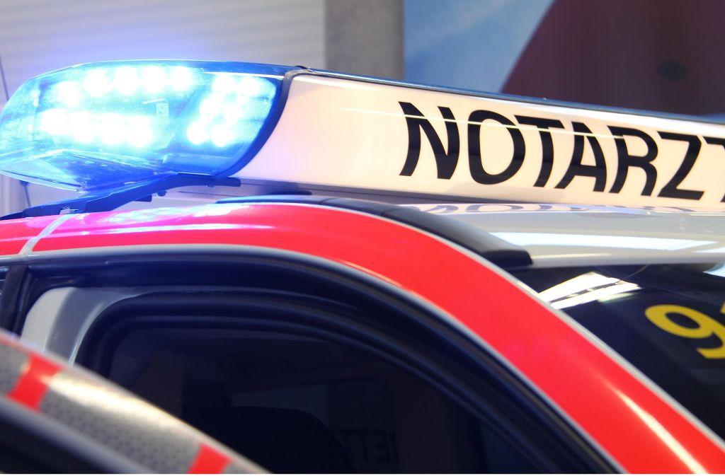 Mit schweren Kopfverletzungen musste ein Lokführer am Dienstag in eine Klinik gebracht werden. Foto: dpa