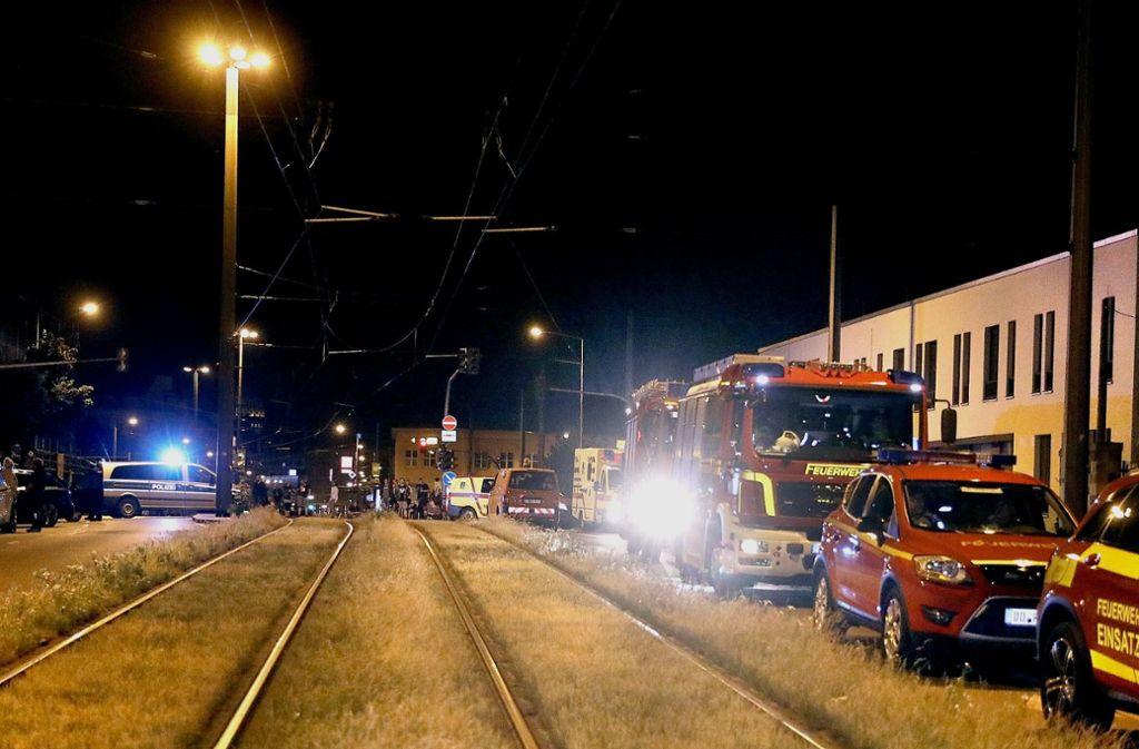 Das betroffene Gebiet liegt mitten in der Innenstadt unweit des Hauptbahnhofs. Foto: dpa-Zentralbild