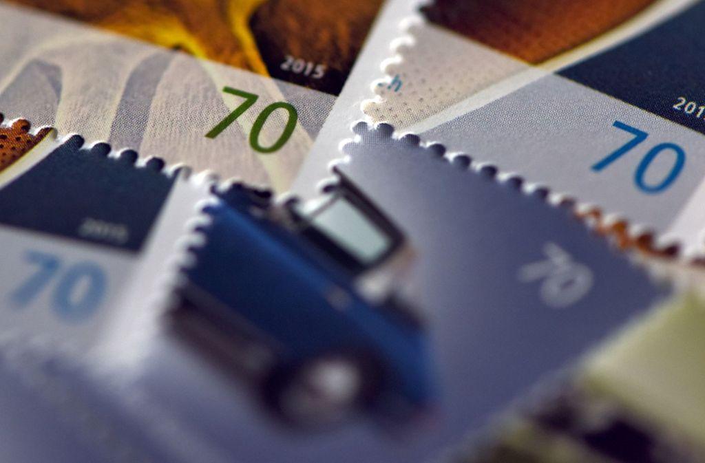 Das Porto für Standardbriefe war zuletzt 2016 von 62 auf 70 Cent gestiegen. Foto: dpa