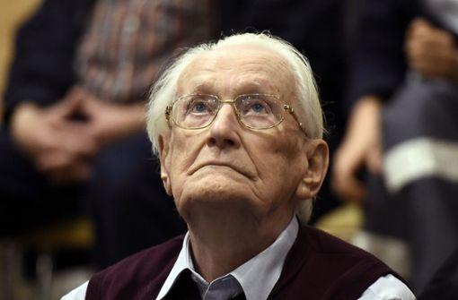 Ex-SS-Mann Gröning soll Haft in Kürze antreten