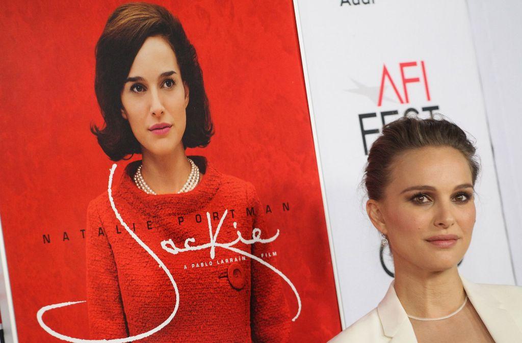 Natalie Portman spielt Jackie Kennedy – die Kritiker sind gespalten. Foto: AFP