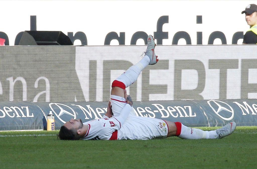 Anastasios Donis war einer der stärksten Spieler gegen Bremen – musste jedoch in der zweiten Hälfte verletzt ausgewechselt werden. Foto: Pressefoto Baumann