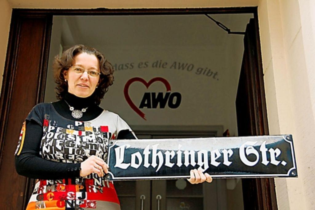 Anna Lichtenberg hat  an der Lothringer Straße ihren Traumjob gefunden. Foto: Bernd Zeyer