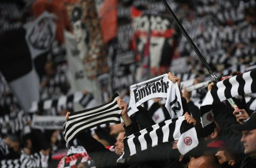 Dieses starke Zeichen setzten die Fans von Eintracht Frankfurt