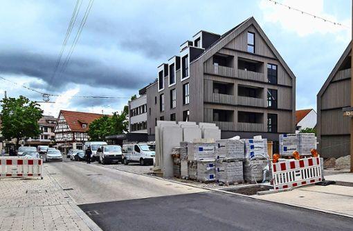 Die ersten Wohnungen sind Ende August  bezugsfertig