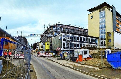 Die IHK will die Gebäude in der Jägerstraße weiter nutzen. Foto: Michael Steinert