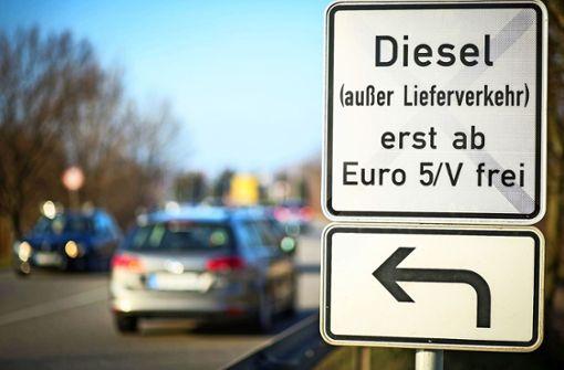 Für diese Dieselfahrer wird das Verbot gelockert