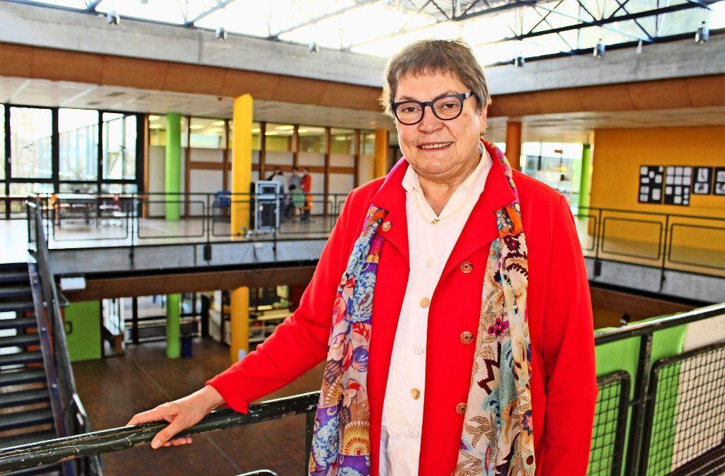 Die Rektorin Irmgard Brendgen sieht sich zunehmen dem Druck der Eltern ausgesetzt. Foto: Holowiecki