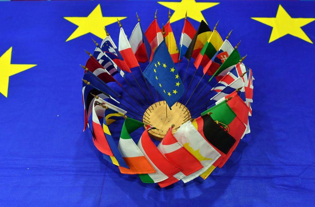 Europa steht bei den Groko-Verhandlungen hoch im Kurs. Foto: dpa
