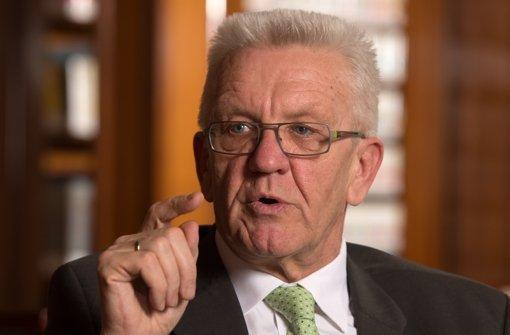 Er will die AfD bei ihren rechten Positionen packen: Winfried Kretschmann. Foto: dpa