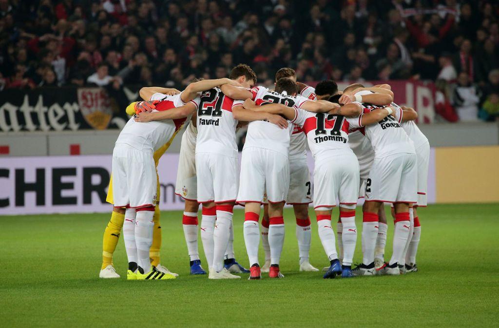 Die ersten Spiele der Rückrunde sind terminiert. Der VfB Stuttgart startet im heimischen Stadion. Foto: Pressefoto Baumann
