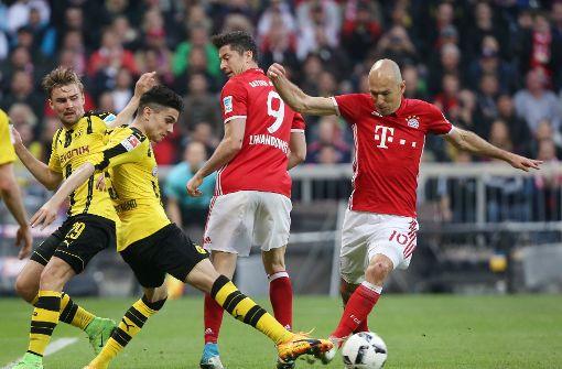 Der FC Bayern München trifft auf Borussia Dortmund
