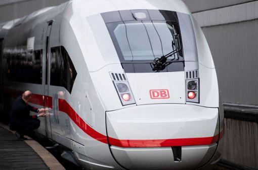 ICE-Zugteil im Hauptbahnhof in Brand geraten
