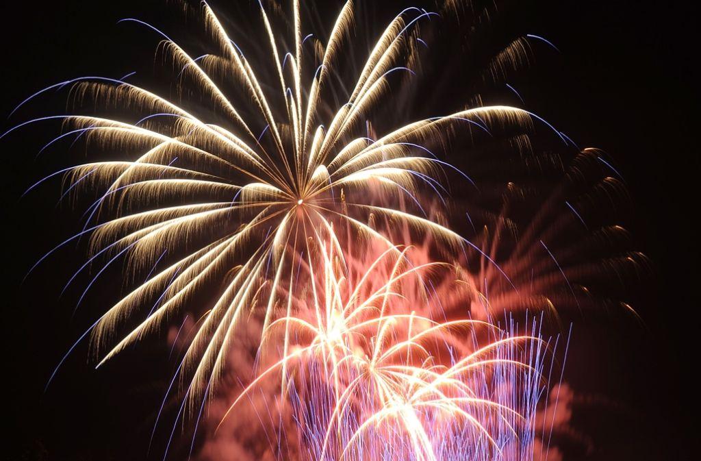 Das Blühende Barock wird wieder von Pyrotechnikern illuminiert. Foto: Veranstalter