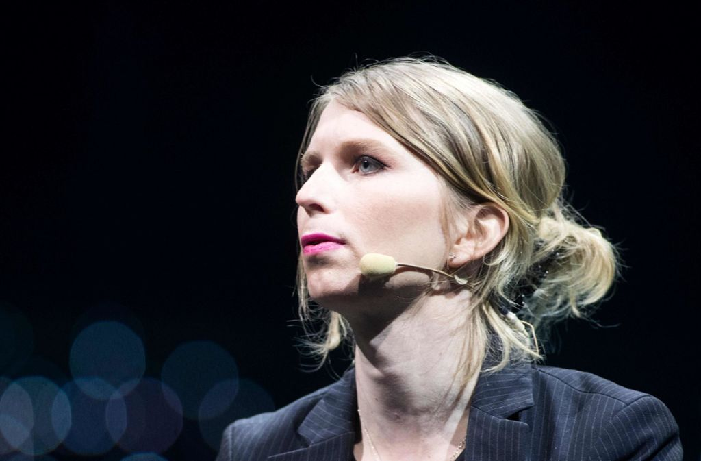 Chelsea Manning saß zwei Monate in einem Gefängnis in Alexandria. Foto: AFP