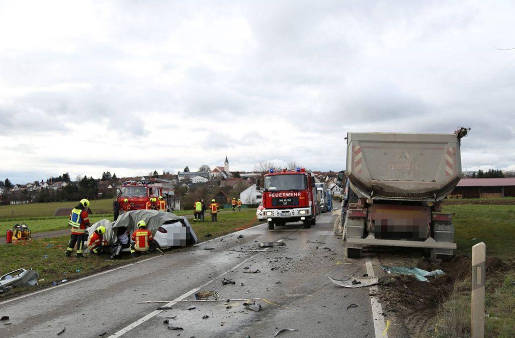 Eine 28-Jährige überlebte den Zusammenstoß nicht. Foto: 7aktuell.de/Christina Zambito