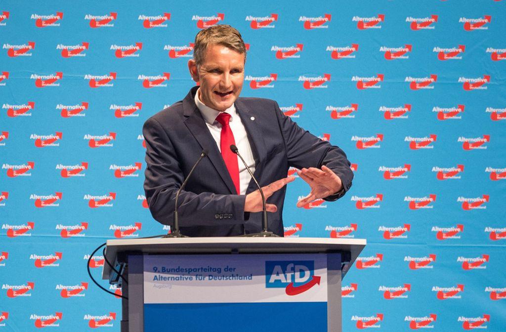 Der Thüringer AfD-Politiker  Björn Höcke sieht in der sozialen Frage das Kernthema der Zukunft – auch für seine Partei. Foto: Getty Images Europe