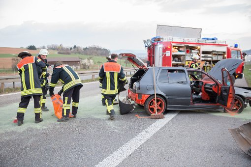 Illegales Autorennen fordert Verletzte