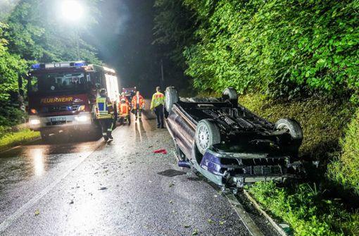 Zehn Verletzte und 60.000 Euro Schaden