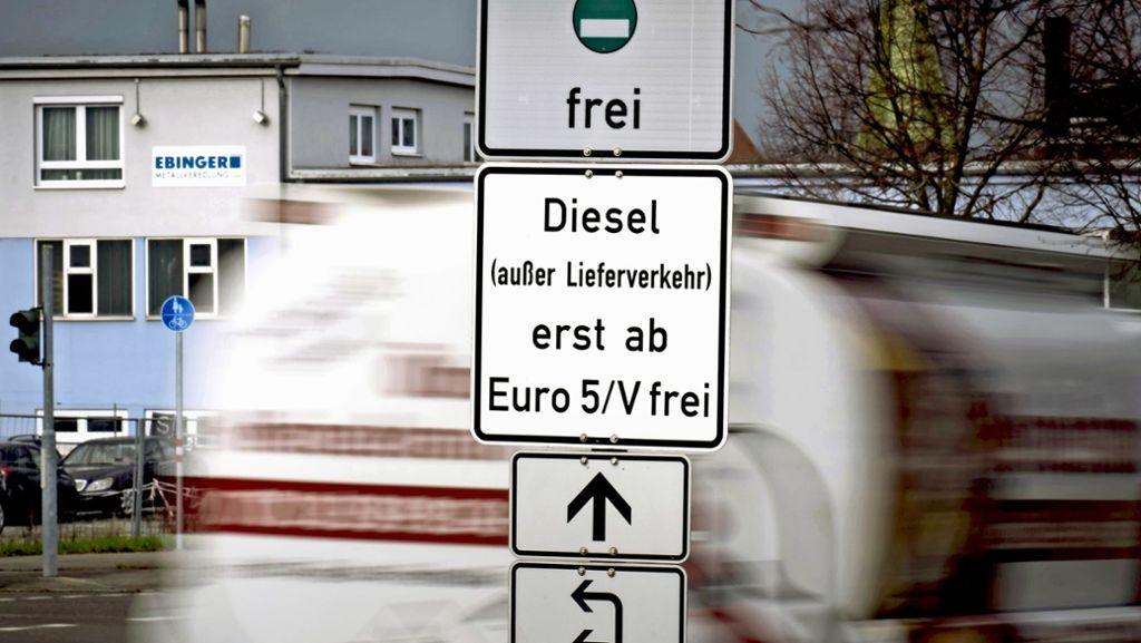 Land plant Euro-5-Zone in Stuttgart