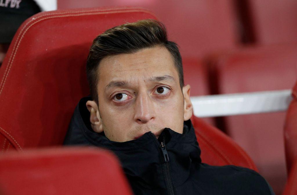 """Mesut Özil ist aus der chinesischen Version des """"eFootball PES 2020"""" entfernt worden. Foto: dpa/David Klein"""